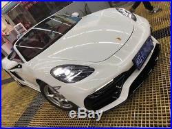 Porsche 718 Carbon Fiber Body Kit Front Bumper with Carbon Fiber Front Lips