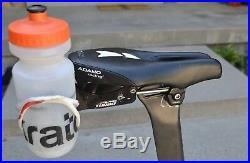 Quintanna Roo CD. 01 Carbon triathlon bike 2015 Ultegra 54cm time trial used