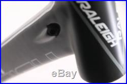 Raleigh Militis 3 55cm Carbon Fiber Road Bike Frame 700c 970g Blk/Slv/Red NEW
