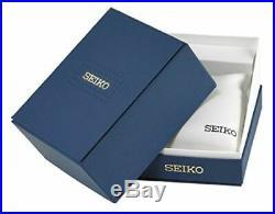 Seiko SSC143 Men's Solar Dress Chronograph Black Dial Two-Tone Watch