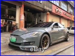 Tesla Model s Carbon Fiber Wide Body Kit Carbon Fiber Front Lip