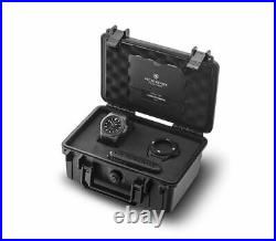 Victorinox I. N. O. X Carbon Mechanical Black Dial Rubber Band Men's Watch 241866.1