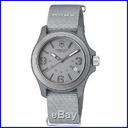 Victorinox Original Grey Men's Quartz Military Watch 241515