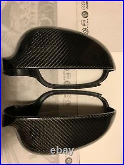 Volkswagen VW Golf Mk5 04-08 Gti Tdi R32 Carbon Fibre Wing Mirror Covers OEM-fit