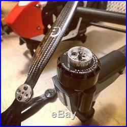 XOAR DJI Inspire 1 Carbon Fiber Propellers Props 1345 + Self-Tightening Adapter